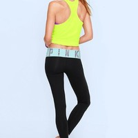 Bling Foldover Yoga Legging