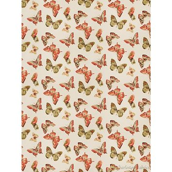 Charleston Maraca Coral Novelty Fabric