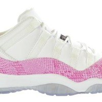 GIRLS AIR JORDAN 11 RETRO LOW (GS) 'SNAKE' -580521-108  Jordan 11
