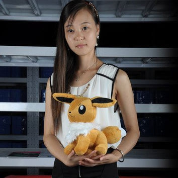 "12"" Eevee New pokemon Soft Stuffed Animal Plush toy"