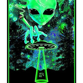 Take Me to Your Dealer Alien Blacklight Poster - Spencer's