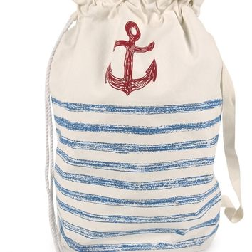 Anchor Sketch Laundry Bag