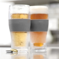 FREEZE Cooling Pint Glasses by HOST (set of 2)