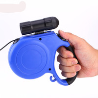 Retractable Pet Dog Leash Lead One-handed/5M