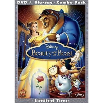 Beauty and the Beast (Three-Disc Diamond Edition Blu-ray/DVD Combo in DVD Packaging)