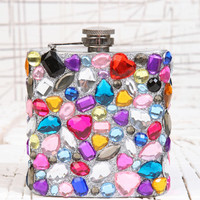Gemstone Hip Flask at Urban Outfitters