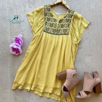 Kind of Love Yellow Dress