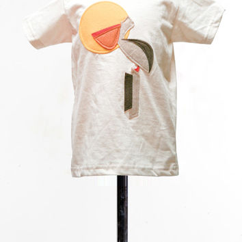 Pelican & Sun Applique Tee or Onesuit