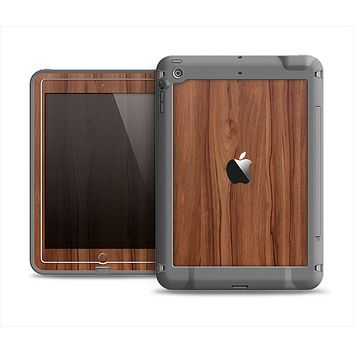 The Smooth-Grained Wooden Plank Apple iPad Air LifeProof Fre Case Skin Set