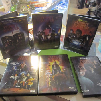 "DVD COLLECTION "" PUPPETMASTER"" SIX"