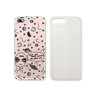 "Alien ""What Are These Human You Speak Of"" Plastic Phone Case for iphone 7 _ SUPERTRAMPshop (VAS629.6sl) (iphone 7)"
