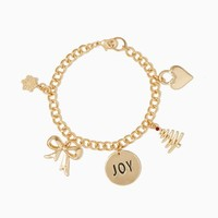 Whimsical Holiday Charm Bracelet | Fashion Jewelry- Christmas | charming charlie