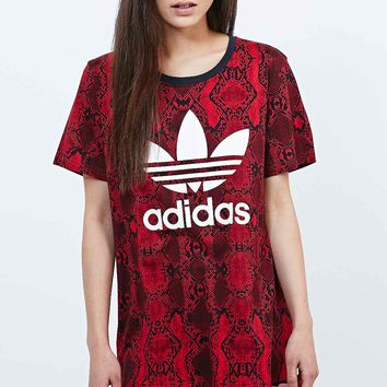 Adidas Clash Tee in Red - Urban Outfitters