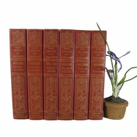 Antique Books by Voltaire for Decorating in an Urban Style, S/6