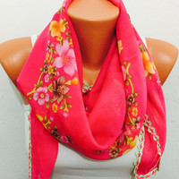 traditional scarf shawl bohemian scarf pattern scarf women accesories summer spring winter scarf shawl boho scarf fashion pink scarf flower