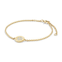 Star of David Bracelet with Diamonds in 18k Gold - David Yurman