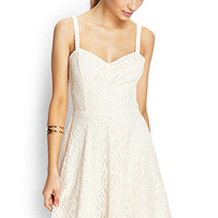 Delicate Crochet Lace Dress