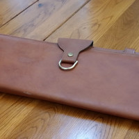 Vintage Men's Leather Tie Valet Luggage Case Great for Travel Perfect Father's Day Groomsman Best Man Guy Gift 2
