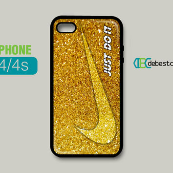 Nike With Luxury Glitter iPhone Cases