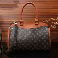 LV Women Leather Shoulder Bag Satchel Tote Handbag G-LLBPFSH
