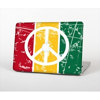 The Red, Yellow & Green Layered Peace Skin Set for the Apple MacBook Air 13""