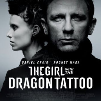 Girl With The Dragon Tattoo Movie mini poster 11x17 #03