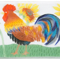 Country Rooster Serving Tray