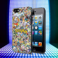 All Pokemon Considered iPhone 4, 4S, 5, 5C, 5S Samsung Galaxy S2, S3, S4 Case