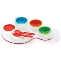 Palette Plate Feeding Set