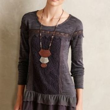 Greylace Tunic by Meadow Rue Dark Grey