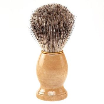 High Quality HotMen Pure Synthetic Hair Removal Vintage Badger Shaving Brush Cosmetic Tool  Latest Product 7CYV ADIH