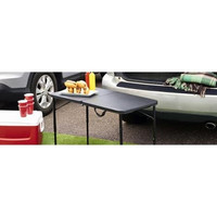"Mainstays 20"" x 40"" Portable Fold-in-Half Table"