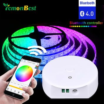 Multi-Function Wireless Blutooth LED Strip Light Smart Controller DC12-24V For RGB RGBW Light Strip for Android for IOS Free App