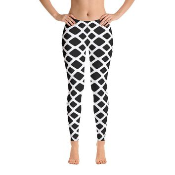 Checkered Alternative Leggings