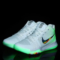 Nike Kyrie Irving 3 New Color Basketball Sneaker - Beauty Ticks