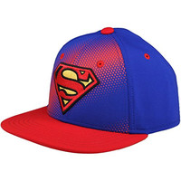 Under Armour Boys Superman Basic Stretch Cap, Royal/Red/Yellow Ray, Small/Medium