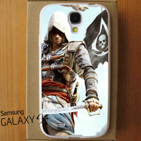 Assassins Creed 4 Black Flag For Samsung Galaxy S4 Case *ST*