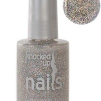 Lil' Angel Rainbow Glitter - Knocked Up Nails - Maternity Pregnancy Safe Nail Polish - Vegan & Gluten-Free - 5-Free
