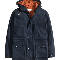 H&M - Short Parka - Dark