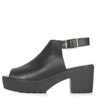 BAT Cleated Shoe Boots - Black