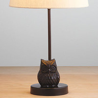 Owl Metal Accent Lamp Base | Lighting| Home Décor | World Market