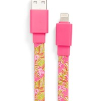 Women's Lilly Pulitzer 'Jungle Tumble' iPhone 5s, 5c & 5 USB Charging Cable