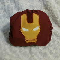 Iron Man Cloth Diaper Cover or Pocket Diaper - One-Size or Newborn, S, M, L