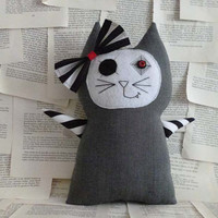 Integra the Striped Kitty Cat Doll