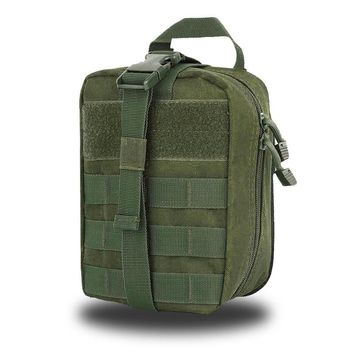 Travel First Aid Kit Tactical Portable Medical Bag Waist Pack Multifunction Foldable Hiking Emergency Box