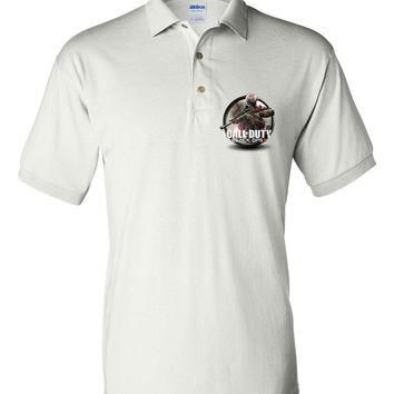Brand New Polo T-shirt Call of Duty