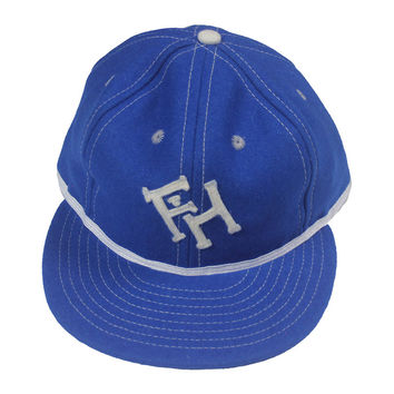 FH x Ebbets Field Fitted Cap - Royal Blue