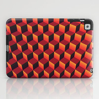Minecraft (Lava) iPad Case by Lyle Hatch | Society6