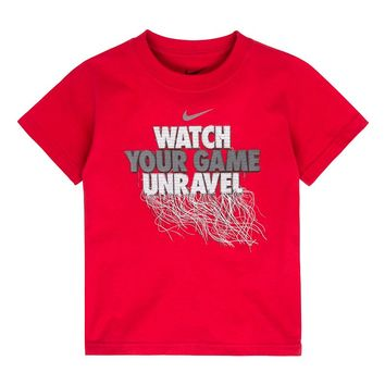 Nike ''Wach Your Game Unravel'' Tee - Boys