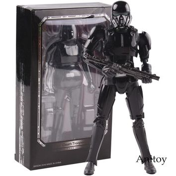 Star Wars Force Episode 1 2 3 4 5 SHF S.H.Figuarts  Figure Death Trooper PVC Action Figure Collectible Model Toy 15cm AT_72_6